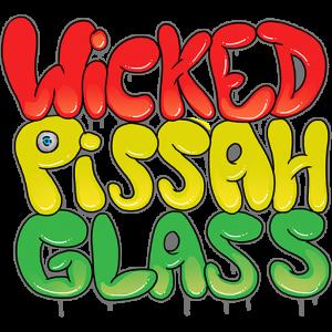 Wicked Pissah Glass Logo